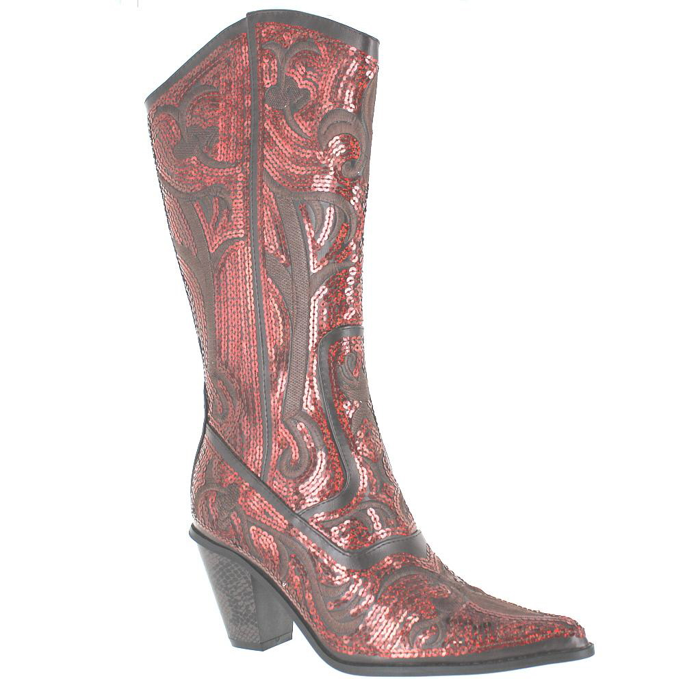 helens 0290 12 brown womens western boot size 8 m ebay