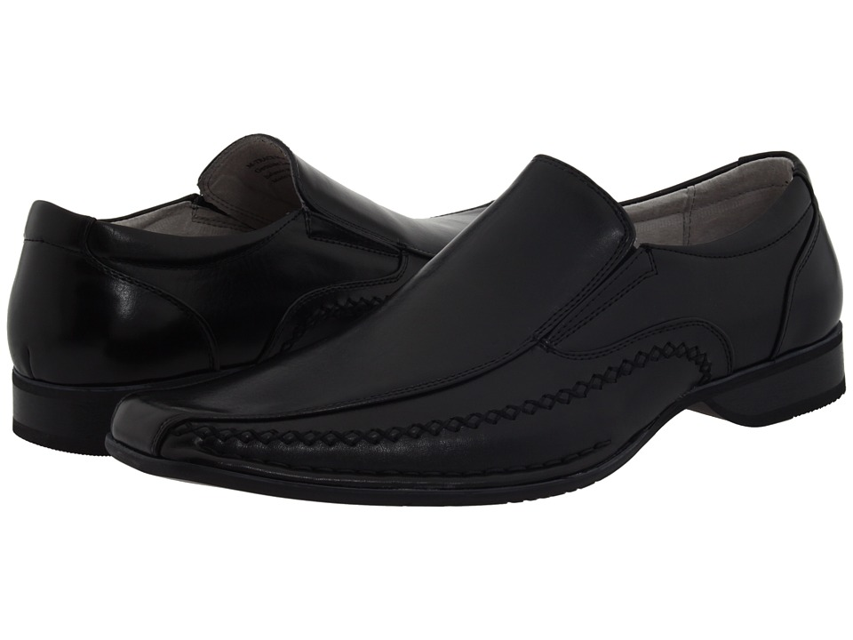 Details about - STEVE MADDEN TRACE BLACK MENS DRESS SHOES Size 9.5 M